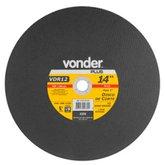 Disco de Corte 355 x 3,2 x 25,40mm G30 para Aço e Metais Ferrosos - VONDER-1207141810