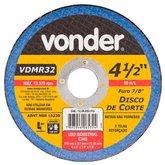 Disco de Corte 115 x 3,2 x 22,23mm G24 para Metais Não Ferrosos - VONDER-1228032412