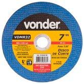 Disco de Corte 180 x 3 x 22,23mm G24 para Metais Não Ferrosos - VONDER-1228032700