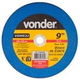 Disco de Corte 230 x 3 x 22,23mm G24 para Metais Não Ferrosos - VONDER-1228032900