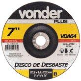 Disco de Desbaste 180mm VDA 64 - VONDER-1206640700