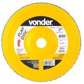 Disco de Desbaste/Acabamento Flap Disc Reto 7 Pol. Grão 50 - VONDER-1225700050