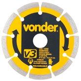 Disco de Corte Diamantado 110mm Segmentado V3 - VONDER-1268300000