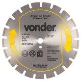 Disco de Corte Diamantado para Asfalto e Concreto DCV 350 - VONDER-1268350050