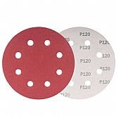 Disco de Lixa com 180mm Grão 120 para Lixadeira LPV 750 com 10 Peças - VONDER-1258180120
