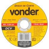 Disco de Corte Fino G46 115 x 1,6 x 22,23mm - VONDER-1240412160