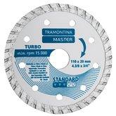 Disco de Corte Diamantado Turbo 4.3/8 Pol. Modelo Standard - TRAMONTINA-42596504
