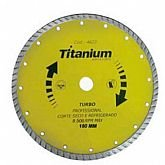Disco Diamantado Turbo 7 Pol.  - TITANIUM-5150