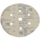 Disco de Polimento Lixa Gold P80 152mm - 3M-236U-P80