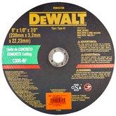 Disco Abrasivo para Concreto 9 Pol - DEWALT-DW44780