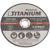 Disco de Corte Refratário 07 Pol. - TITANIUM-C30RB2T