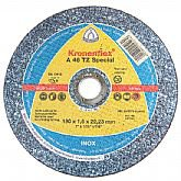 Disco de Corte Fino para Aço Carbono e Inox de 7 Pol. - KLINGSPOR-A46TZ-7