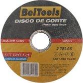 Disco Abrasivo de Corte para Aço Inox 4-1/2 x 3/64 x 7/8 Pol. - BELTOOLS-DACAI4-1/2