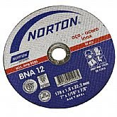 Disco de Corte 178 x 1,6 x 22,2 mm - NORTON-BNA12