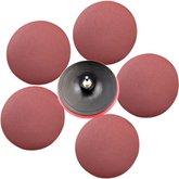 Disco para Politriz e Esmerilhadeira com 5 Lixas - 180 mm - UYUSTOOLS-DP180J