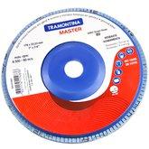 Disco Flap de 7 Pol. com Grão 80 - TRAMONTINA-42631003