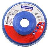 Disco Flap de 4.1/2 Pol. com Grão 80 - TRAMONTINA-42630003