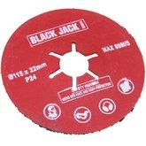 Disco de Polimento Semi-Rígido Estriado 4.1/2 Pol. - BLACK JACK-J3161