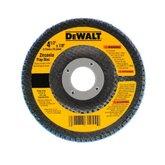 Disco Flap 4.1/2 x 7/8 pol. com Grão 40  - DEWALT-DW8307-AR