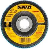 Disco Flap 4.1/2 x 7/8Pol com Grão 60  - DEWALT- DW8308-AR