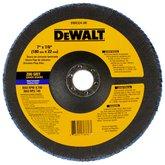 Disco Flap de 7 Pol. com Grão 80 - DEWALT-DW8324-AR