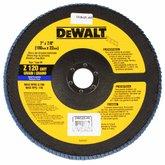 Disco Flap de 7 Pol. com Grão 120 - DEWALT-DW8325-AR