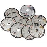 Disco de Corte Inox 115mm com 10 Discos - BOSCH-2 608 603 254