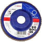Disco Flap de 4-1/2 Pol. com Grão 40 para Metal  - BOSCH-2608607361