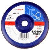 Disco Flap de 7 Pol. com Grão 40 para Metal - BOSCH-2608607369