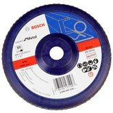 Disco Flap de 7 Pol. com Grão 60 para Metal  - BOSCH-2608607370