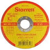 Disco Abrasivo de Corte 4.1/2. para Aço Carbono - STARRETT-DAC115-34