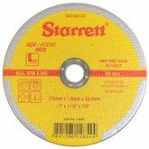 Disco de Corte de 7 Pol. para Aço Inox - STARRETT-DAC180-24