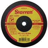 Disco Abrasivo de Desbaste 229 x 6,4 x 22,22mm - STARRETT-DAD230-64