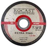 Disco de Corte Extra Fino 4.1/2 Pol. x 1,2mm - ROCAST-134,0002