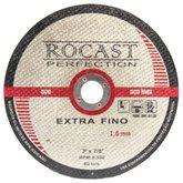 Disco de Corte Extra Fino 7 Pol. x 1,6mm - ROCAST-134.0004