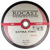 Disco de Corte Extra Fino 9 Pol. x 2,0mm  - ROCAST-134,0005