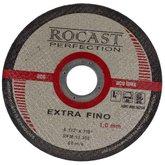 Disco de Corte Extra Fino 4.1/2 Pol. x 1mm - ROCAST-1340001