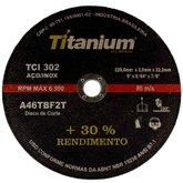 Disco de Corte Fino 9 Pol. para Aço/Inox - TITANIUM-1065