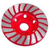 Disco de Desbaste Diamantado 100mm 20 Dentes para Concreto - HESSEN-20945