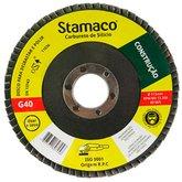 Disco Flap de 115mm com Grão 40 para Construção - STAMACO-7258