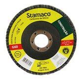 Disco Flap de 115mm com Grão 60 para Construção - STAMACO-7005