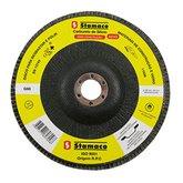 Disco Flap de 180mm com Grão 60 para Construção - STAMACO-7098