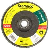 Disco Flap de 180mm com Grão 400 para Construção - STAMACO-7135