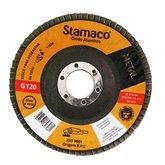 Disco Flap para Metal de 115mm com Grão 120 - STAMACO-7081