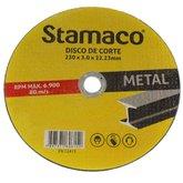 Disco de Corte de 230mm para Metal - STAMACO-6152