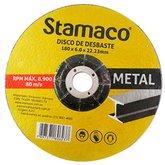 Disco de Desbaste de 180mm para Metal - STAMACO-6237