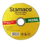 Disco de Corte de 115 x 20 mm para Construção - STAMACO-6169