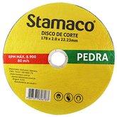 Disco de Corte de 178 x 22 mm para Construção - STAMACO-6183