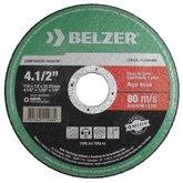 Disco de Corte de 4-1/2 Pol. para Aço Inox - BELZER-1151622BRI