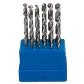 Jogo de Brocas de Aço Rápido 1 a 10mm para Metais com 19 Peças - BREMEN-33930006